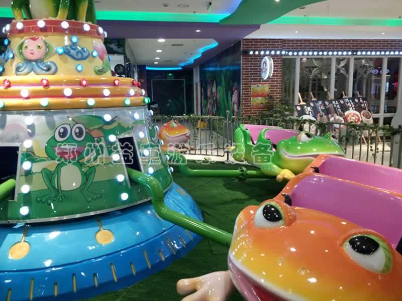 安徽商场四种游乐设备安装完毕