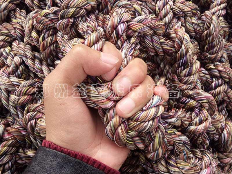 体能乐园绳网展示
