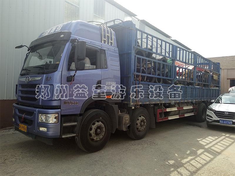 江苏南京张老板户外拓展项目装车发货中
